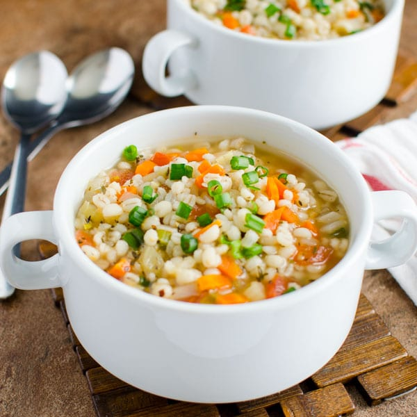 Delicious Healthy Barley Soup Recipe Watch What U Eat