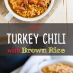 This easy turkey chili is simple to prepare, healthy and a one pot meal. It is prepared using all healthy ingredients. Full of all traditional flavors.