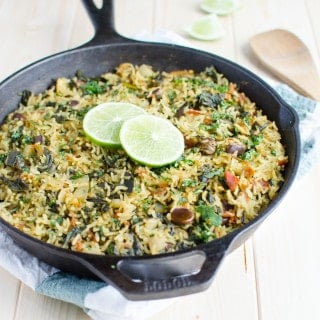 One Pot Spinach Rice