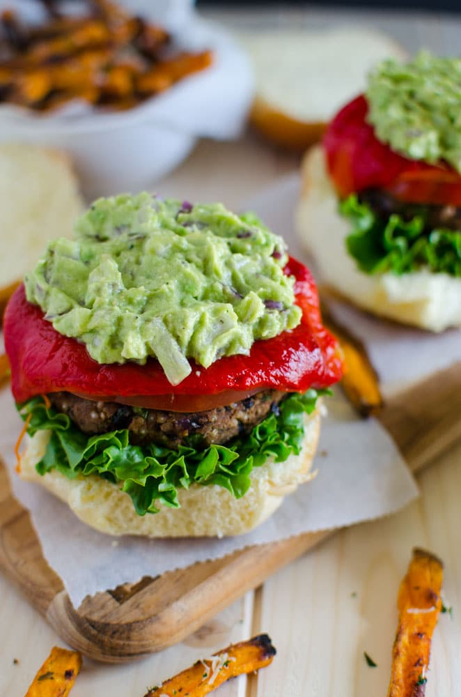Healthy black bean quinoa burger is perfect for any meatless meal. Give it a try and you would want to prepare it again and again.