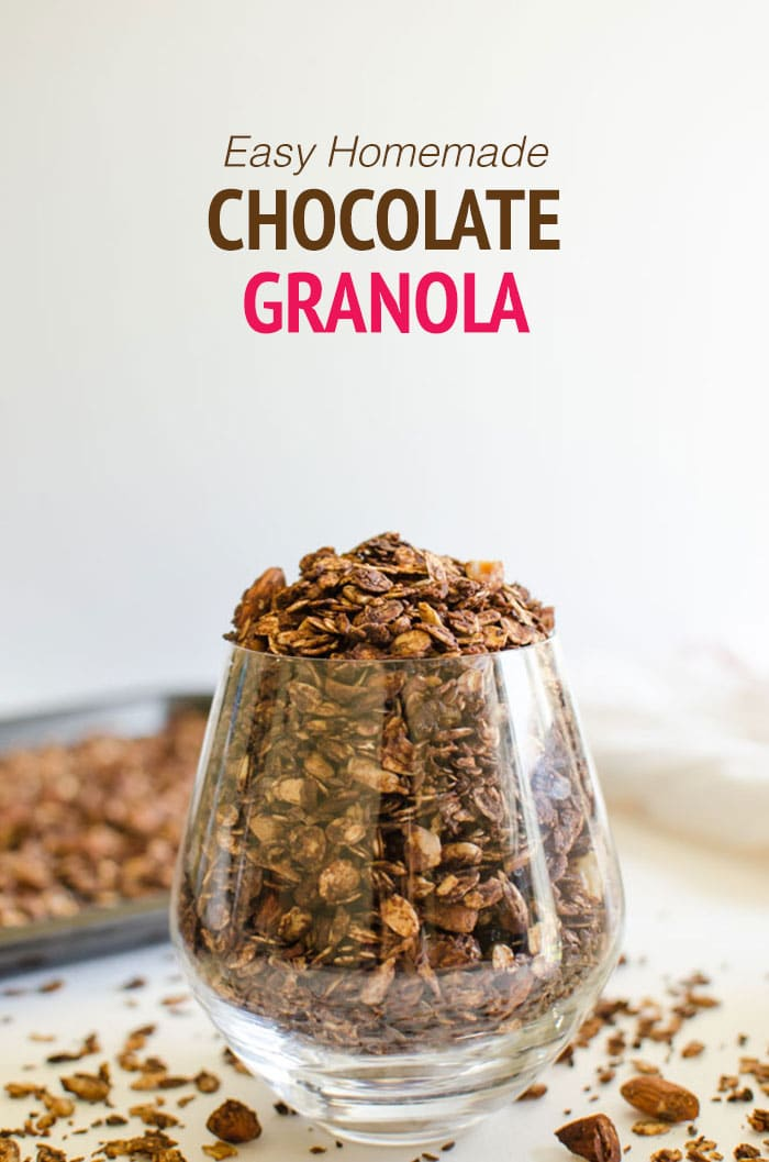 Easy Homemade Granola For Morning Breakfasts