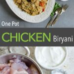 This one pot easy chicken biryani is full of traditional flavors & easiest to prepare. If you like Indian flavors, then you will love this delicacy