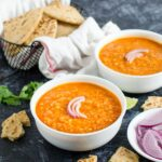 Red Lentil Curry -- Protein filled vegan & vegetarian option perfect for lunch or dinner. Also, a healthy & gluten free dish