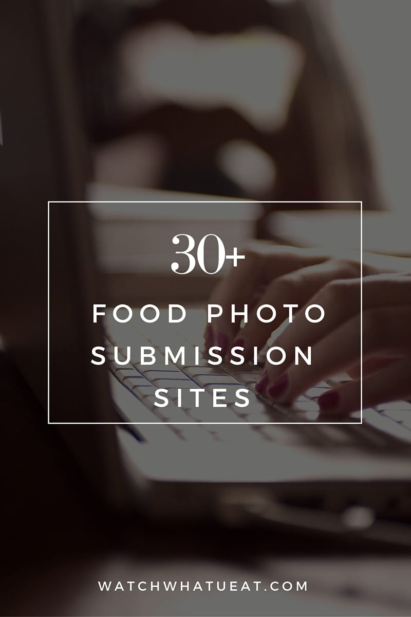 Food Photo Submission Sites