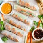 Vietnamese Healthy Spring Rolls