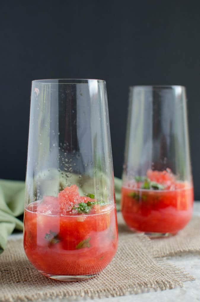 Watermelon Mojito Recipe | watchwhatueat.com