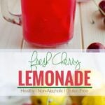 Drink this amazing combination of fresh cherries and lemons. It is healthy and refreshing--a naturally sweetened lemonade for guilt free drinks.
