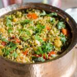 One pot easy vegetable biryani. Healthy and nutritious | watchwhatueat.com