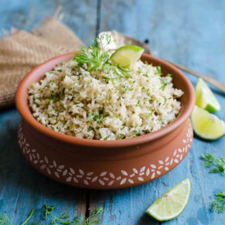 Cilantro Lime Brown Rice | Vegan & Gluten Free