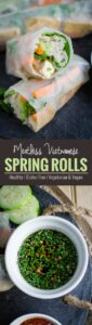 Make these delicious, nutritious & protein packed vegan spring rolls as an appetizer to please the party crowd. Also, great for a healthy lunch or dinner.