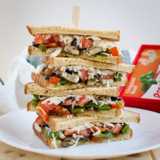 Veggie Sandwich Recipe!