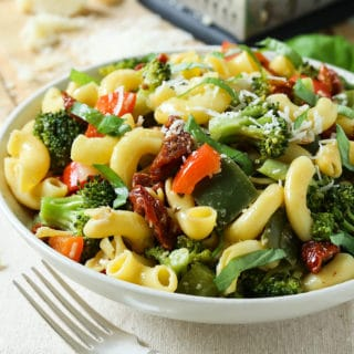 30 min Stir Fry Vegetable Pasta Salad
