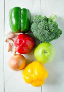 Stir Fry veggies - a perfect side dish to enjoy your favorite veggies