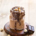 Banana Chocolate Smoothie - nutritious and a naturally sweetened breakfast drink