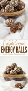 Quick and easy no-bake energy balls are perfect for healthy snacks. These are packed with nutrients and contain NO white sugar