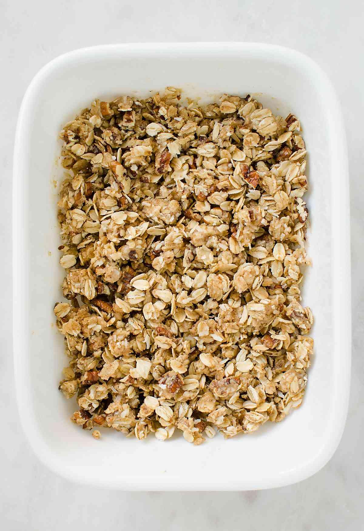 Easy Healthy Apple Crisp Recipe!