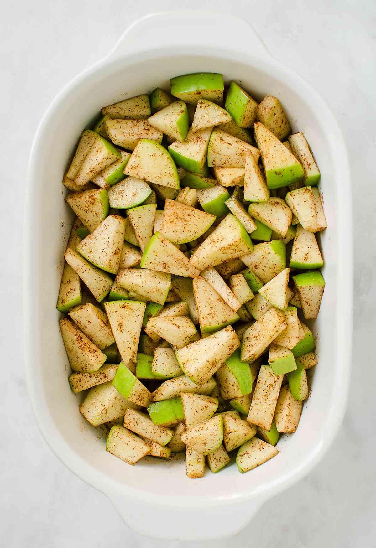 Best Ever Healthy Apple Crisp Recipe Watch What U Eat