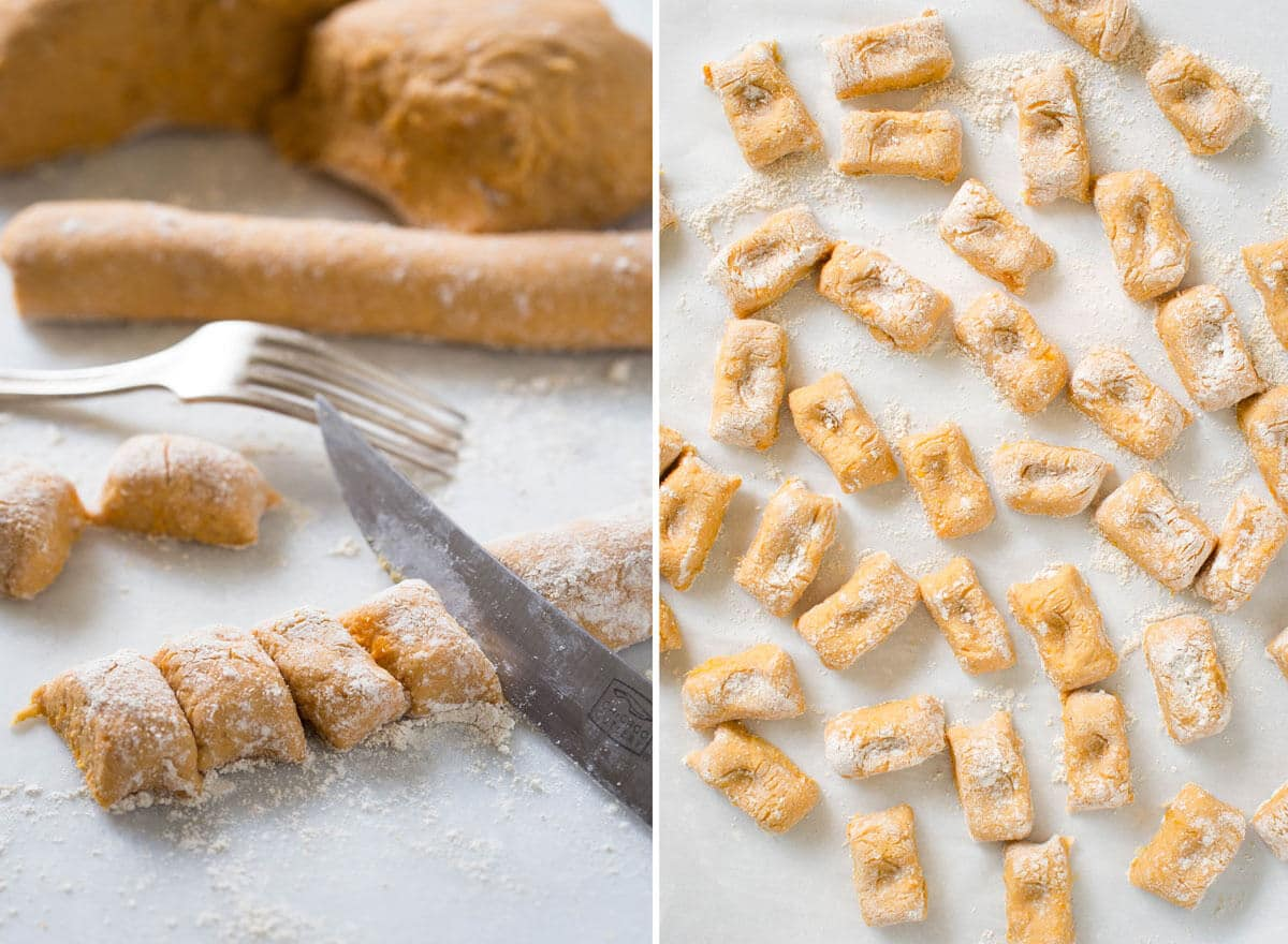 Learn how to make sweet potato gnocchi.