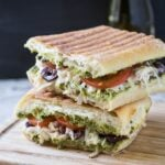 Quick and easy Italian flavored leftover Chicken Sandwich Recipe | or Leftover Turkey Sandwich Recipe | #chicken #turkey #leftover
