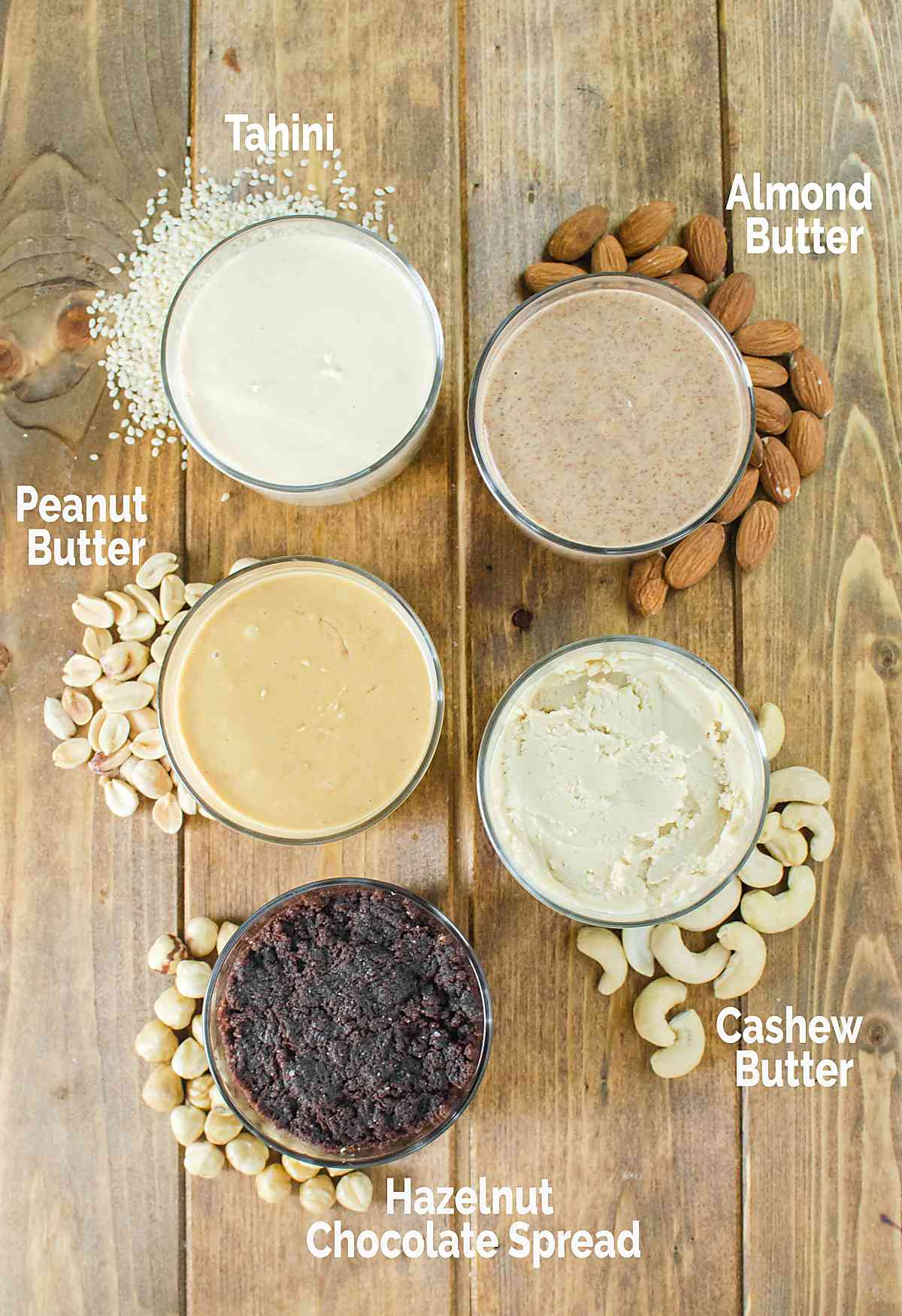 Easy homemade nut butter using variety of nuts and seeds
