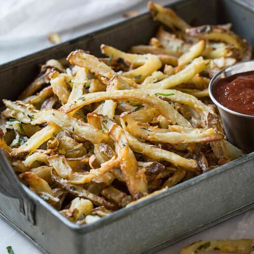 Healthy Low Fat Air Fryer French Fries