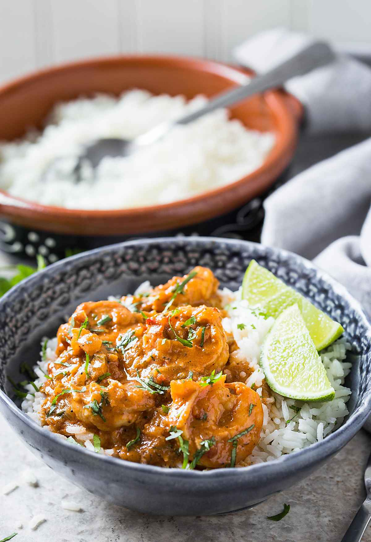 Quick and easy Coconut Shrimp Curry. | #shrimp #coconutcurry #curry #onepan