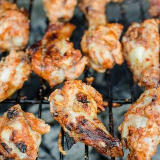 Grilled Tandoori Chicken Wings