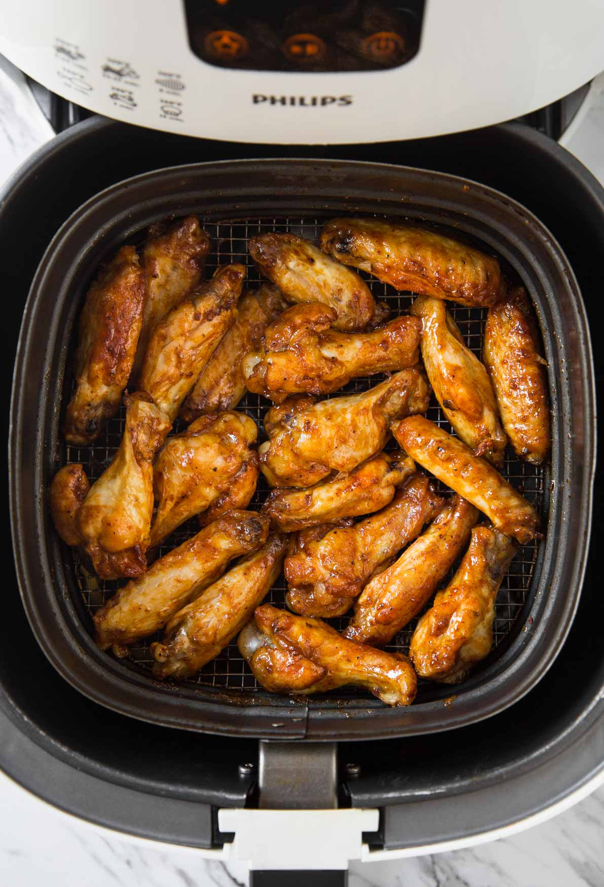 Quick And Easy Air Fryer Bbq Chicken Wings Watch What U Eat