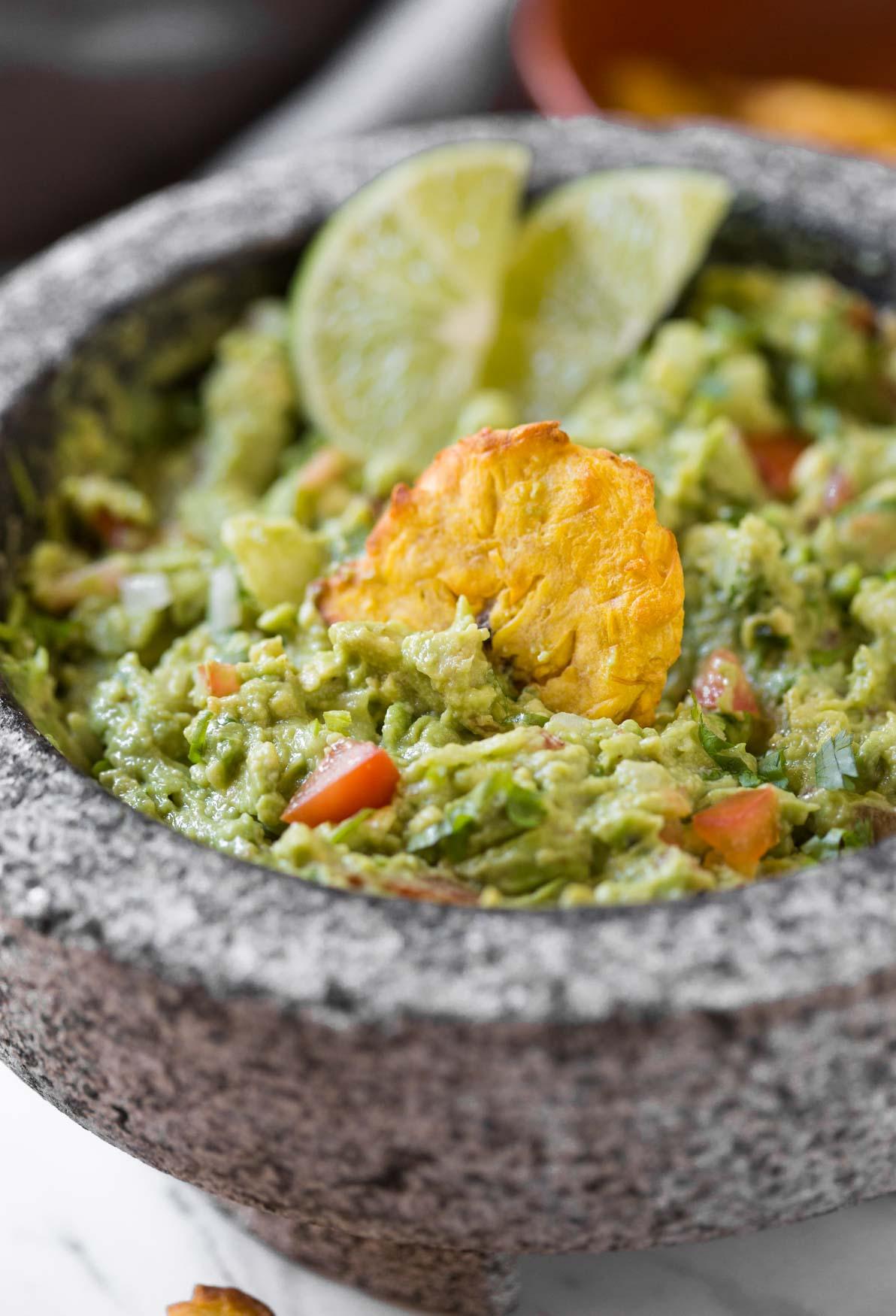 Best Ever Homemade Simple Healthy Guacamole Recipe