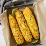 Under 15 mins. make this quick and easy Air fryer corn whenever you need roasted corn.