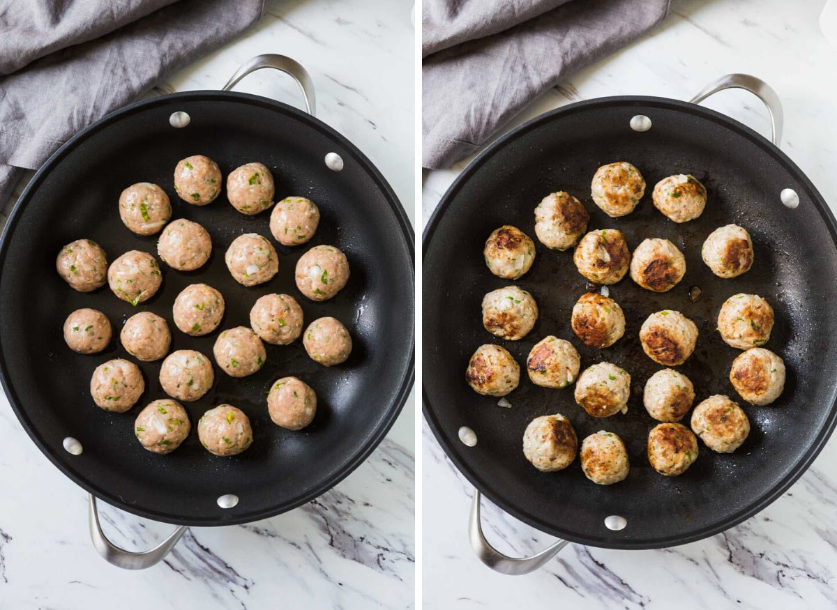How to cook meatballs on the stove
