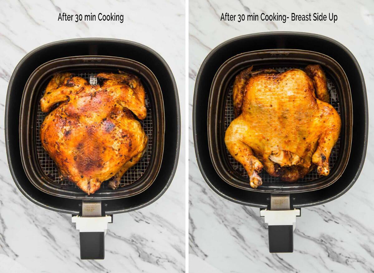 Air Fryer Whole Chicken Recipe