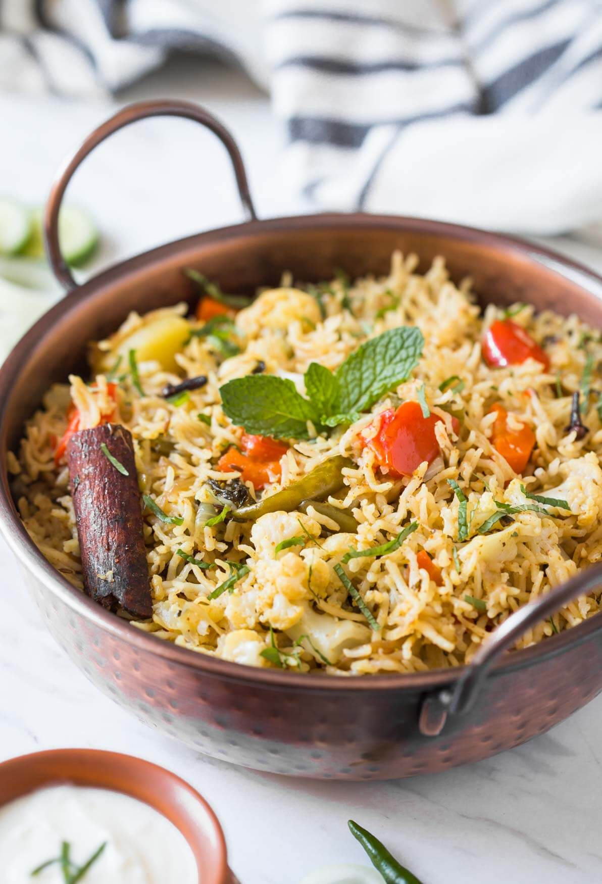 How To Make Instant Pot Vegetable Biryani With Authentic Flavors