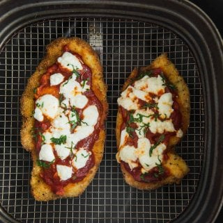 chicken parmesan in the air fryer