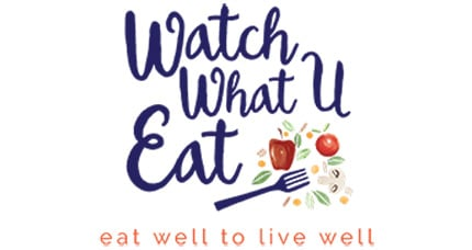 Watch What U Eat logo
